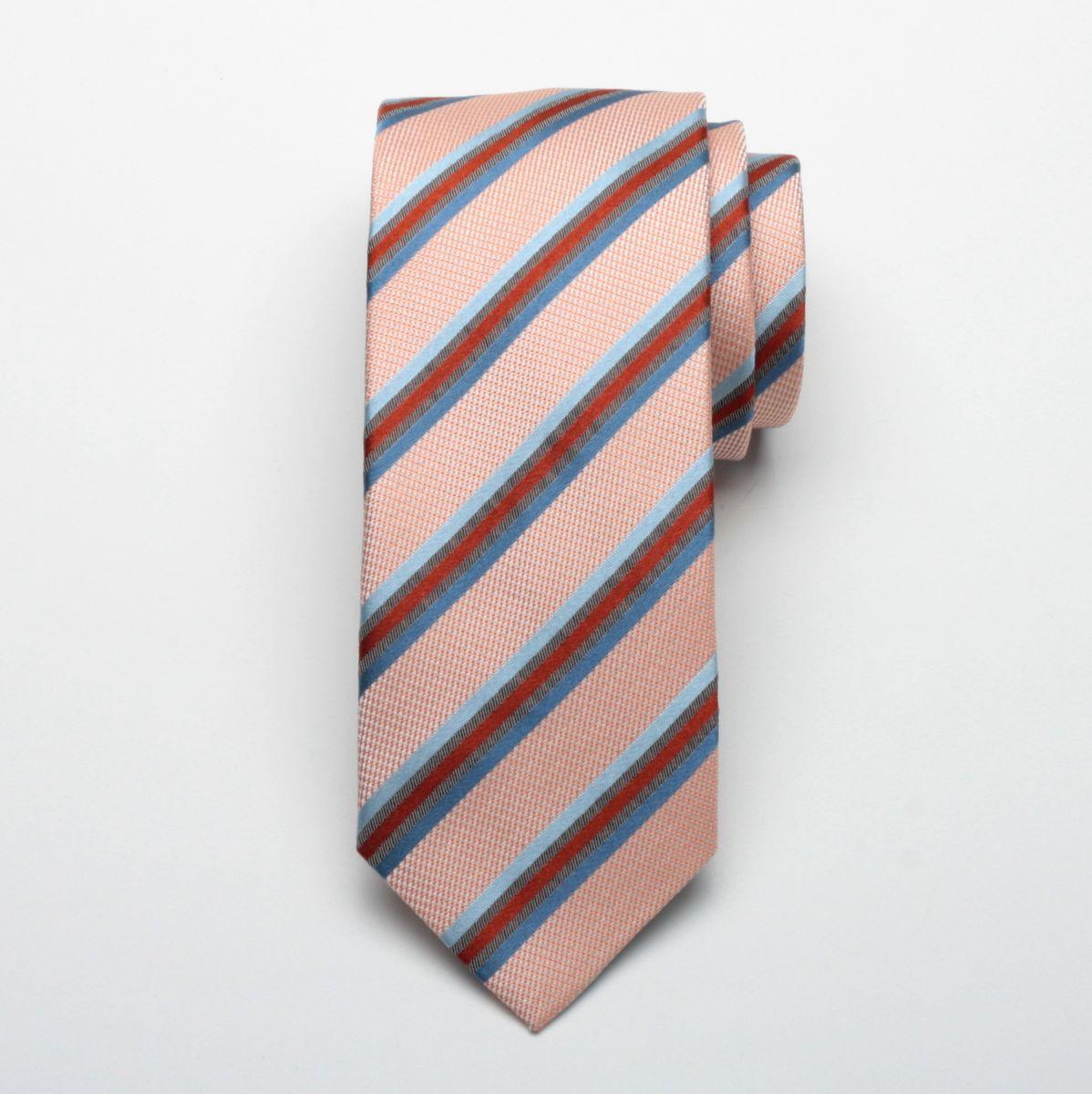 Krawat jedwabny Fine Selection (wzór 69)