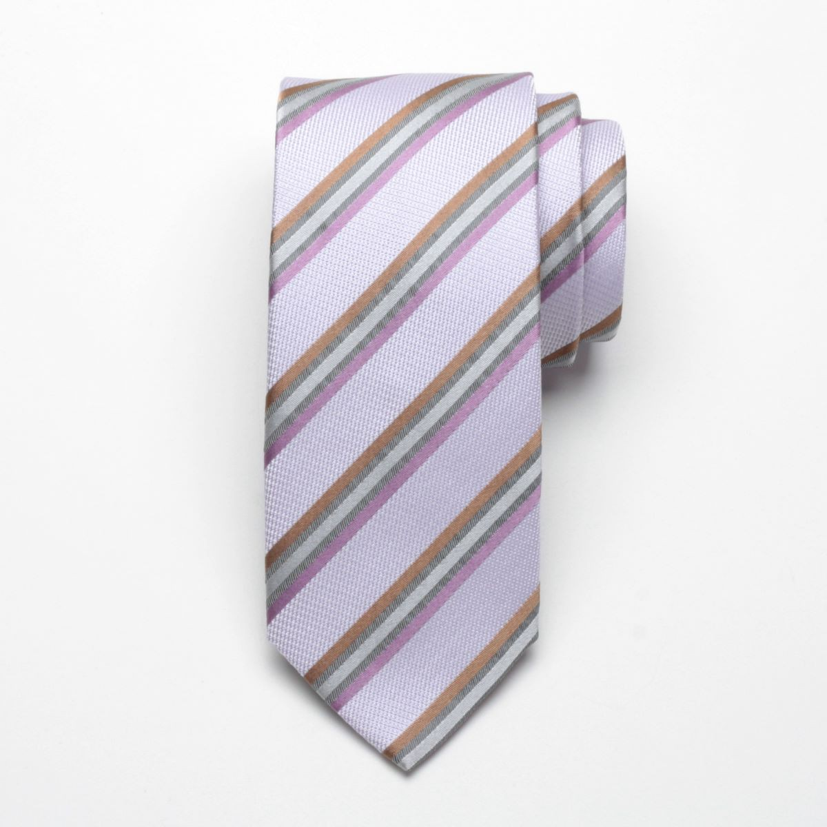 Krawat jedwabny Fine Selection (wzór 61)