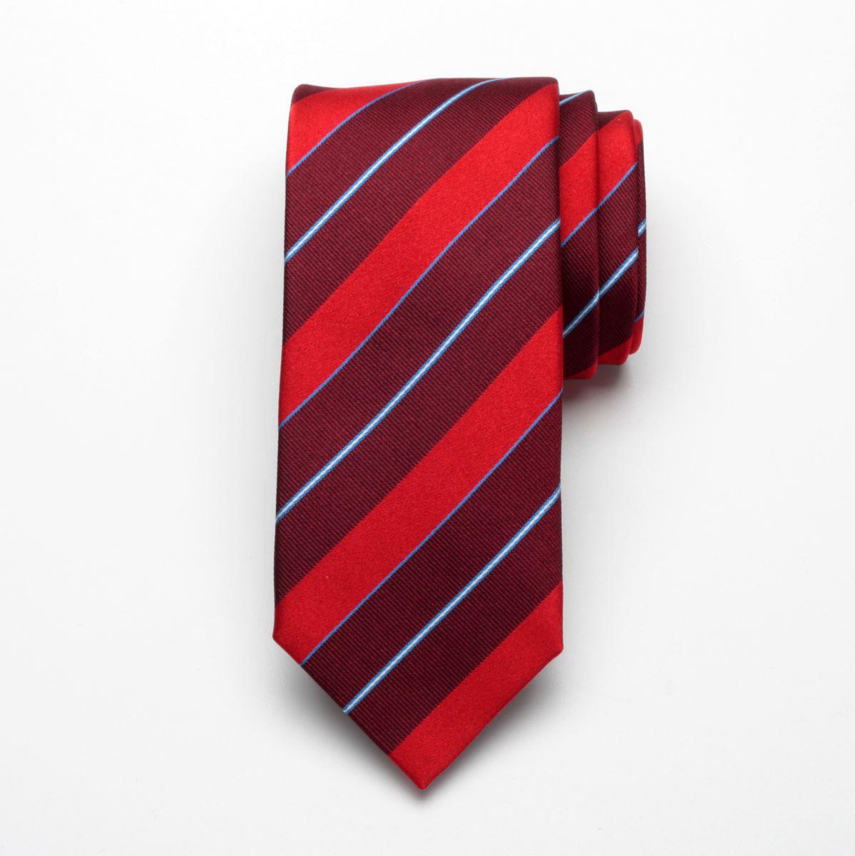 Krawat jedwabny Fine Selection (wzór 46)