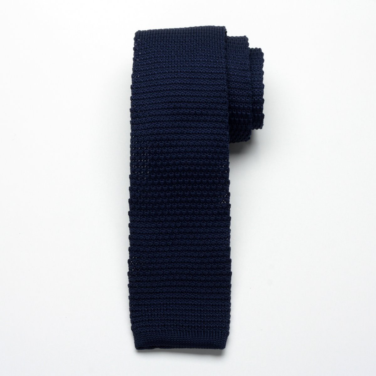 Krawat tkany Willsoor - granatowy