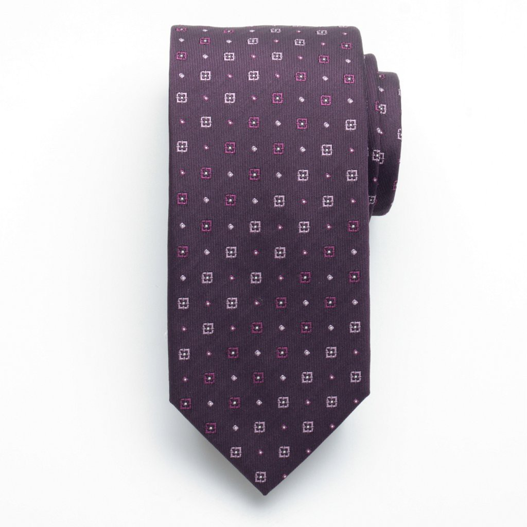 Krawat jedwabny (wzór 154)
