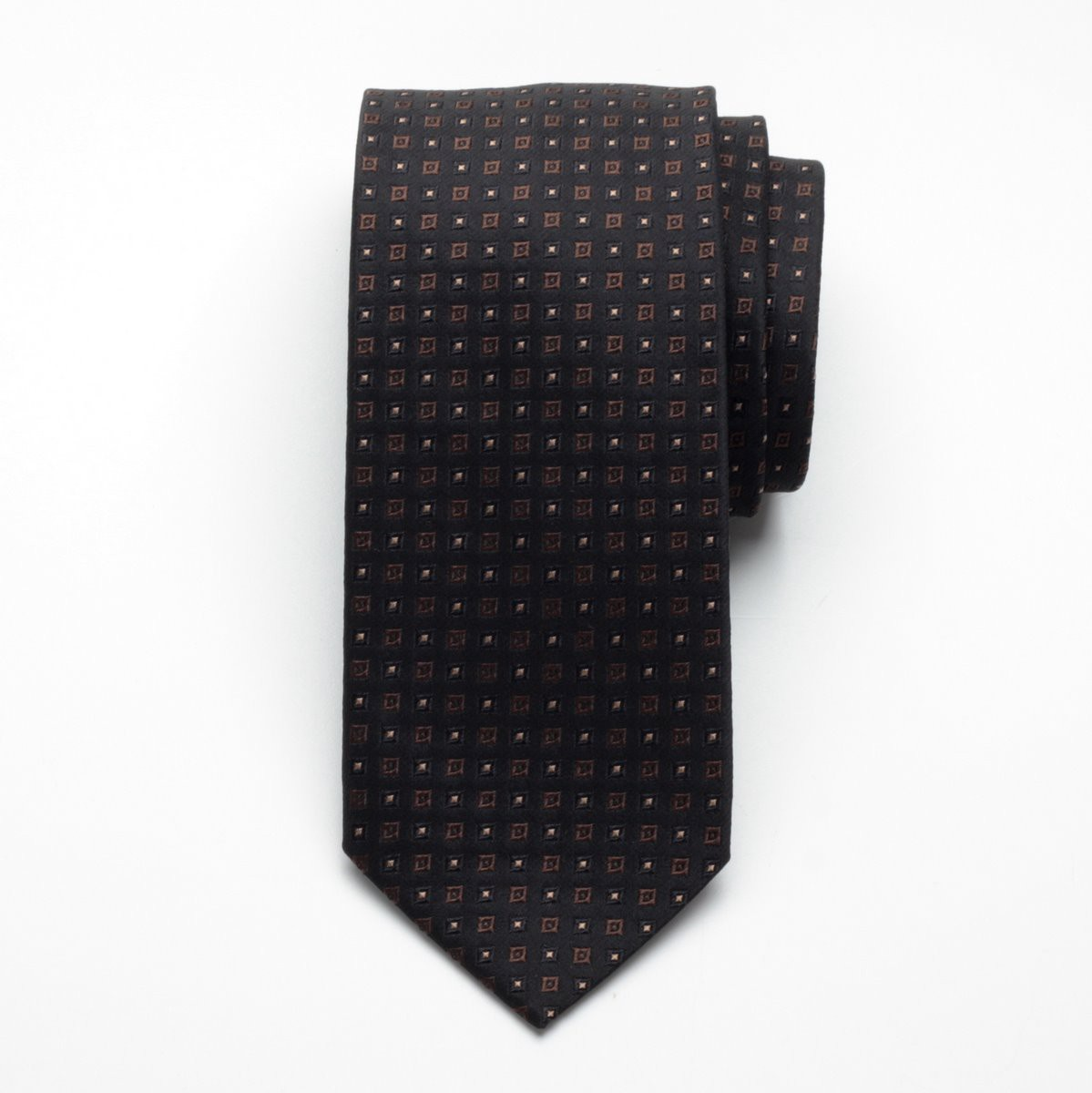 Krawat jedwabny Fine Selection (wzór 82)