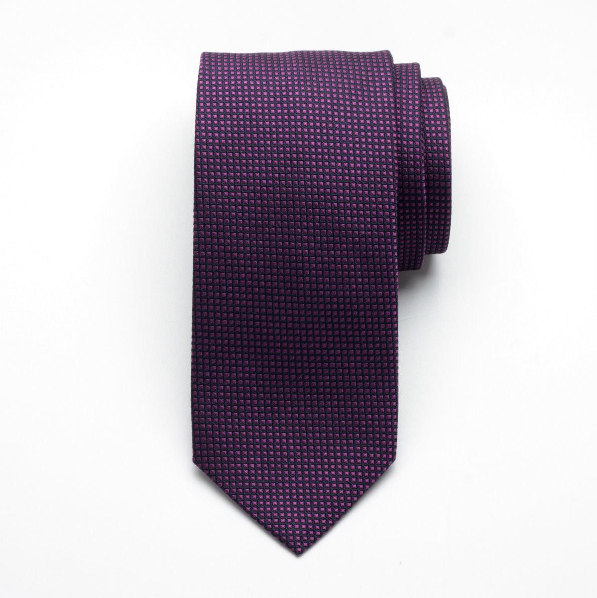 Krawat jedwabny Fine Selection (wzór 83)