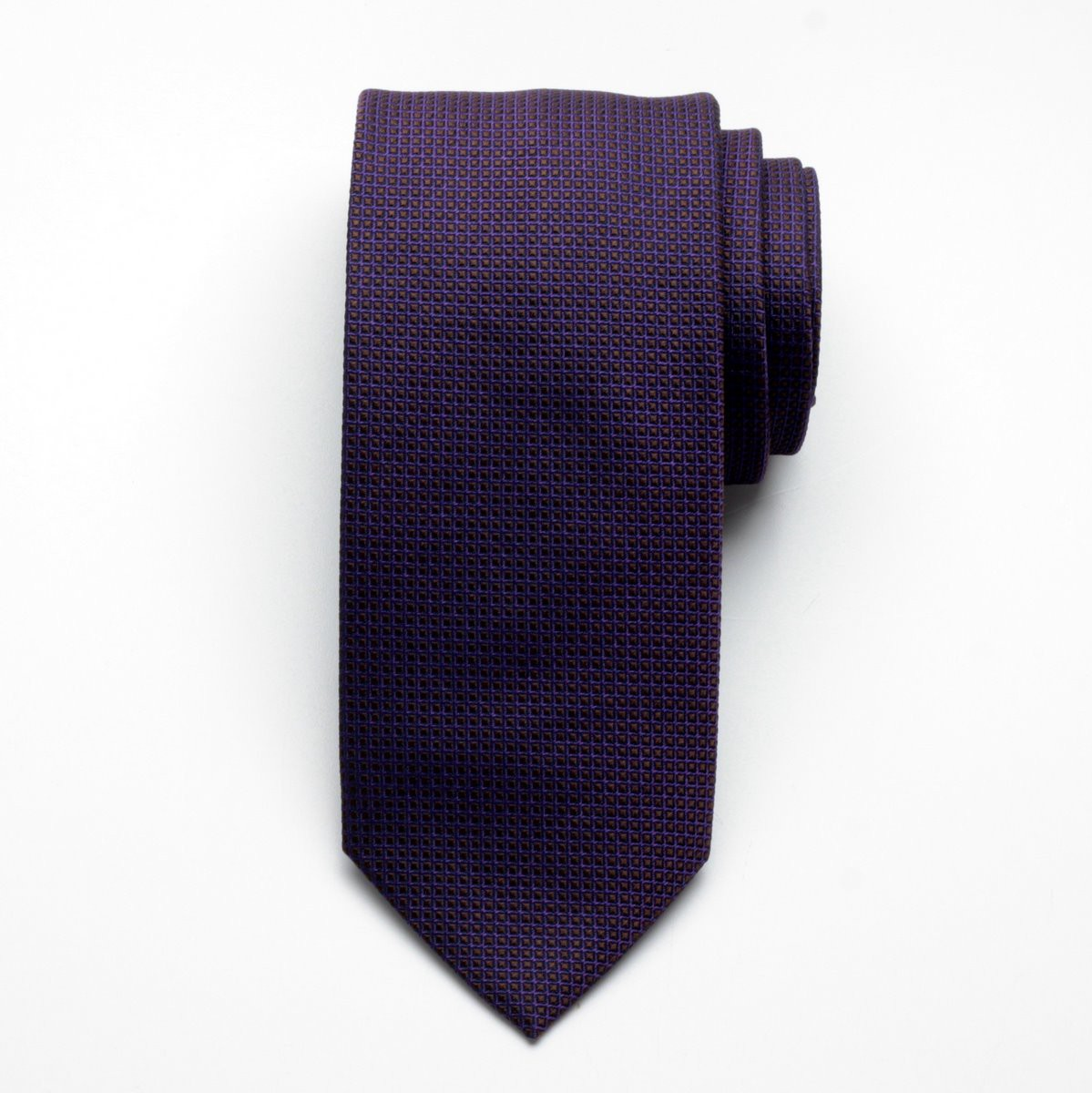 Krawat jedwabny Fine Selection (wzór 84)