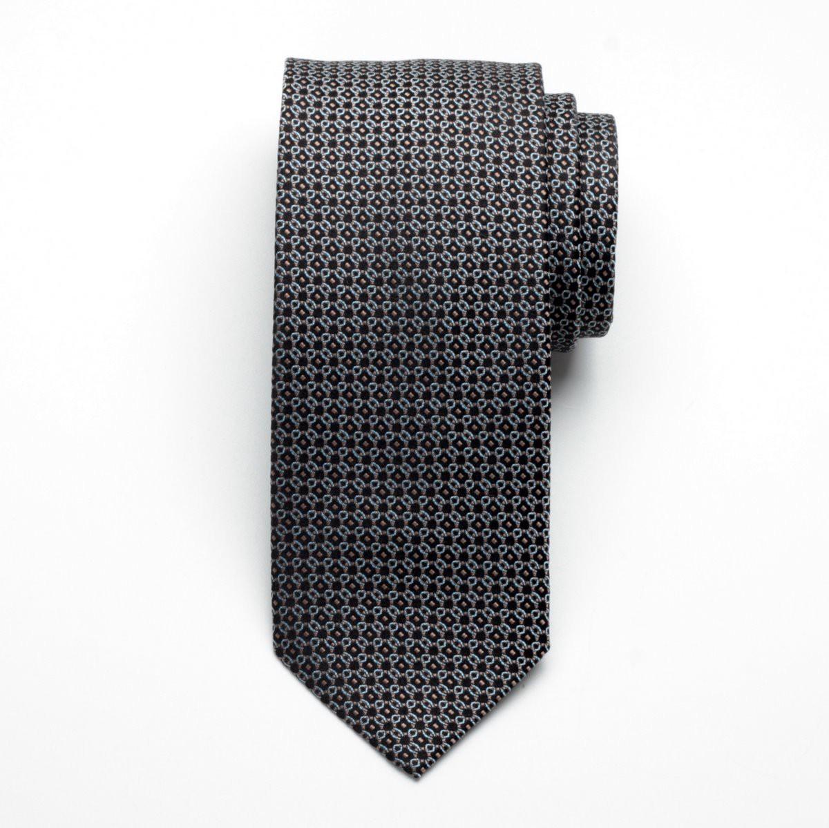 Krawat jedwabny Fine Selection (wzór 88)