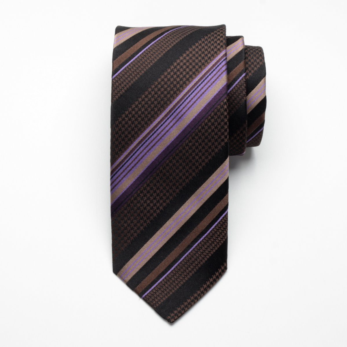 Krawat jedwabny Fine Selection (wzór 89)