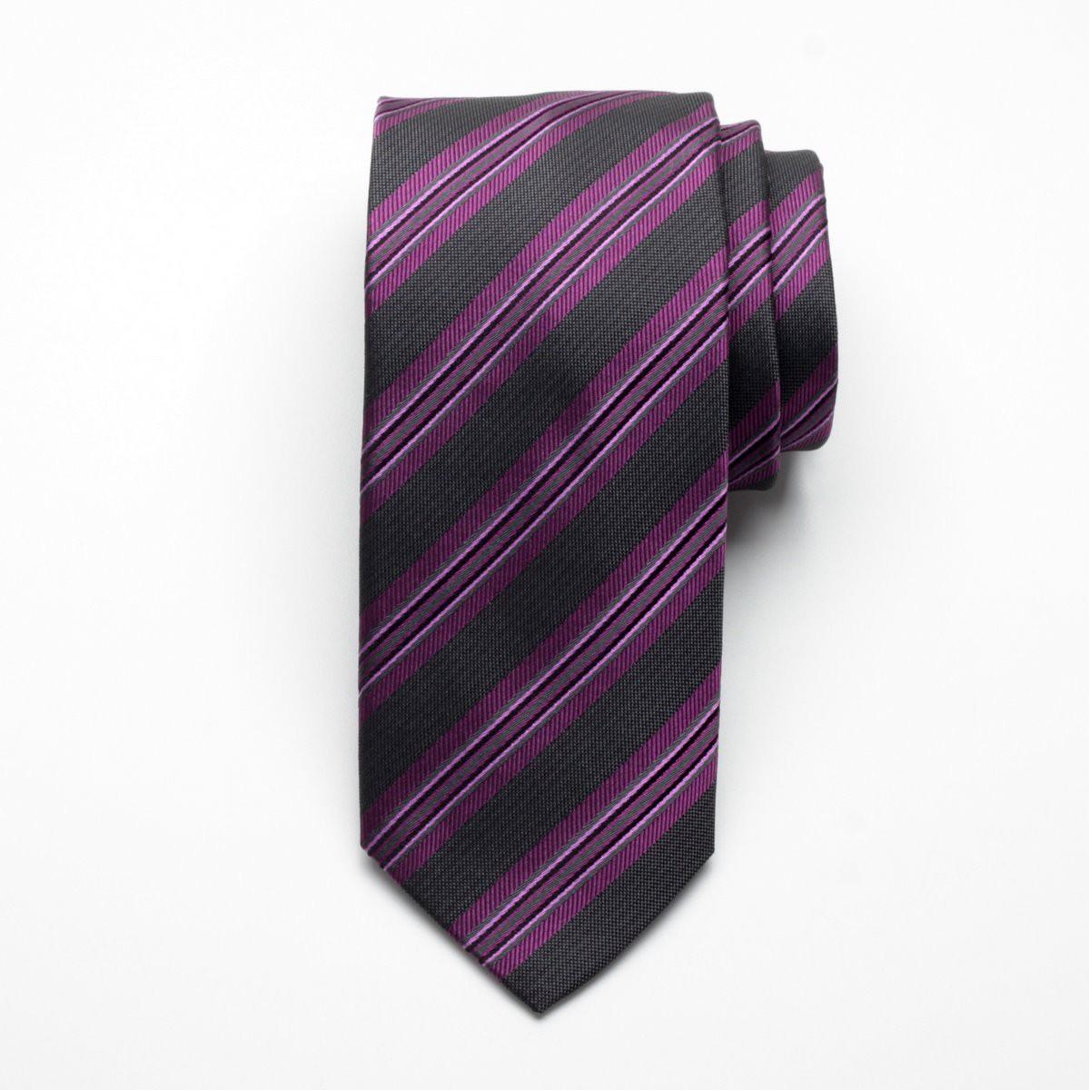 Krawat jedwabny Fine Selection (wzór 90)
