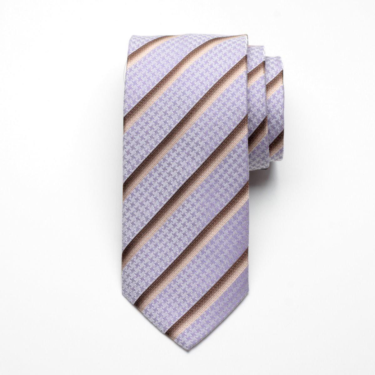 Krawat jedwabny Fine Selection (wzór 91)
