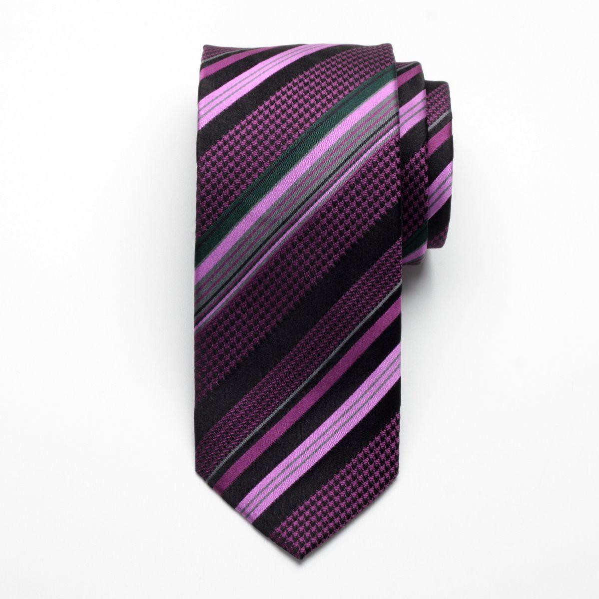 Krawat jedwabny Fine Selection (wzór 92)