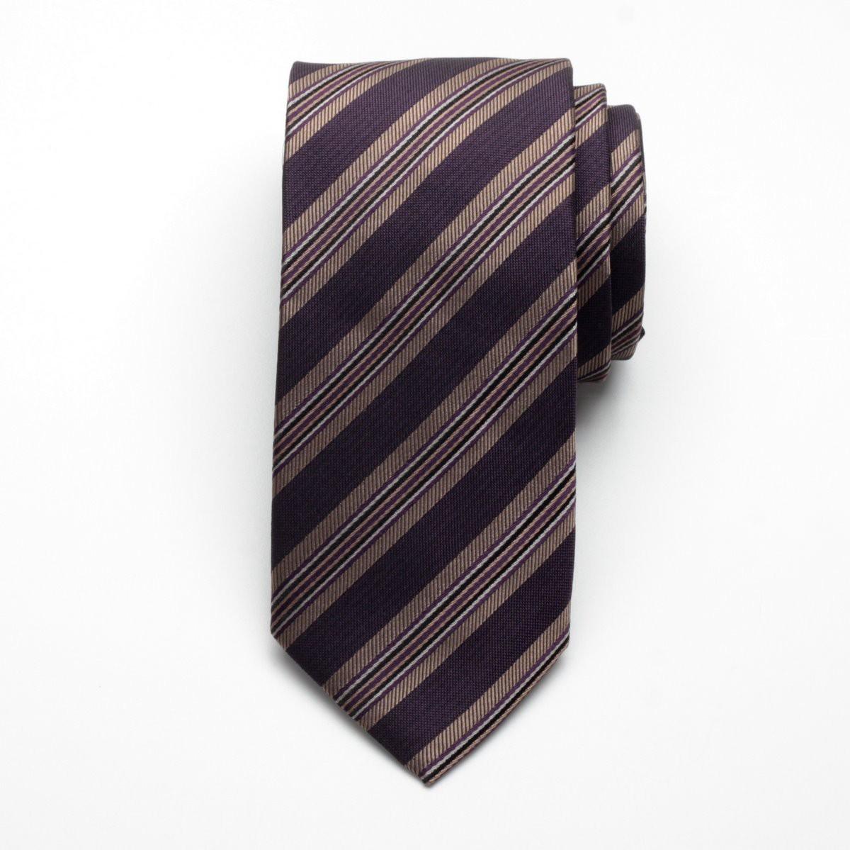 Krawat jedwabny Fine Selection (wzór 93)