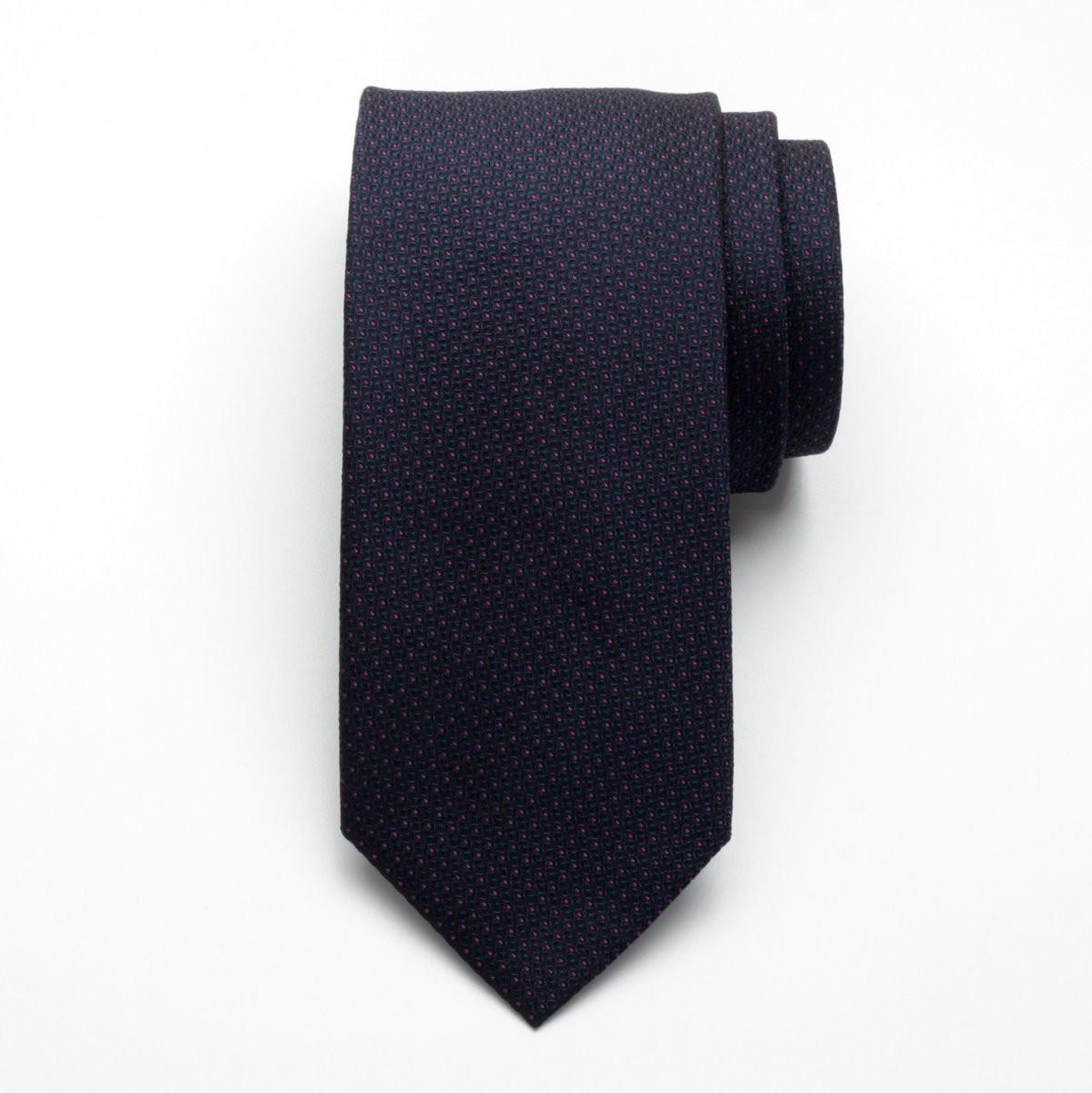 Krawat jedwabny Fine Selection (wzór 94)