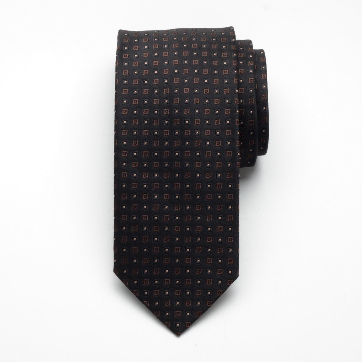 Krawat jedwabny Fine Selection (wzór 96)
