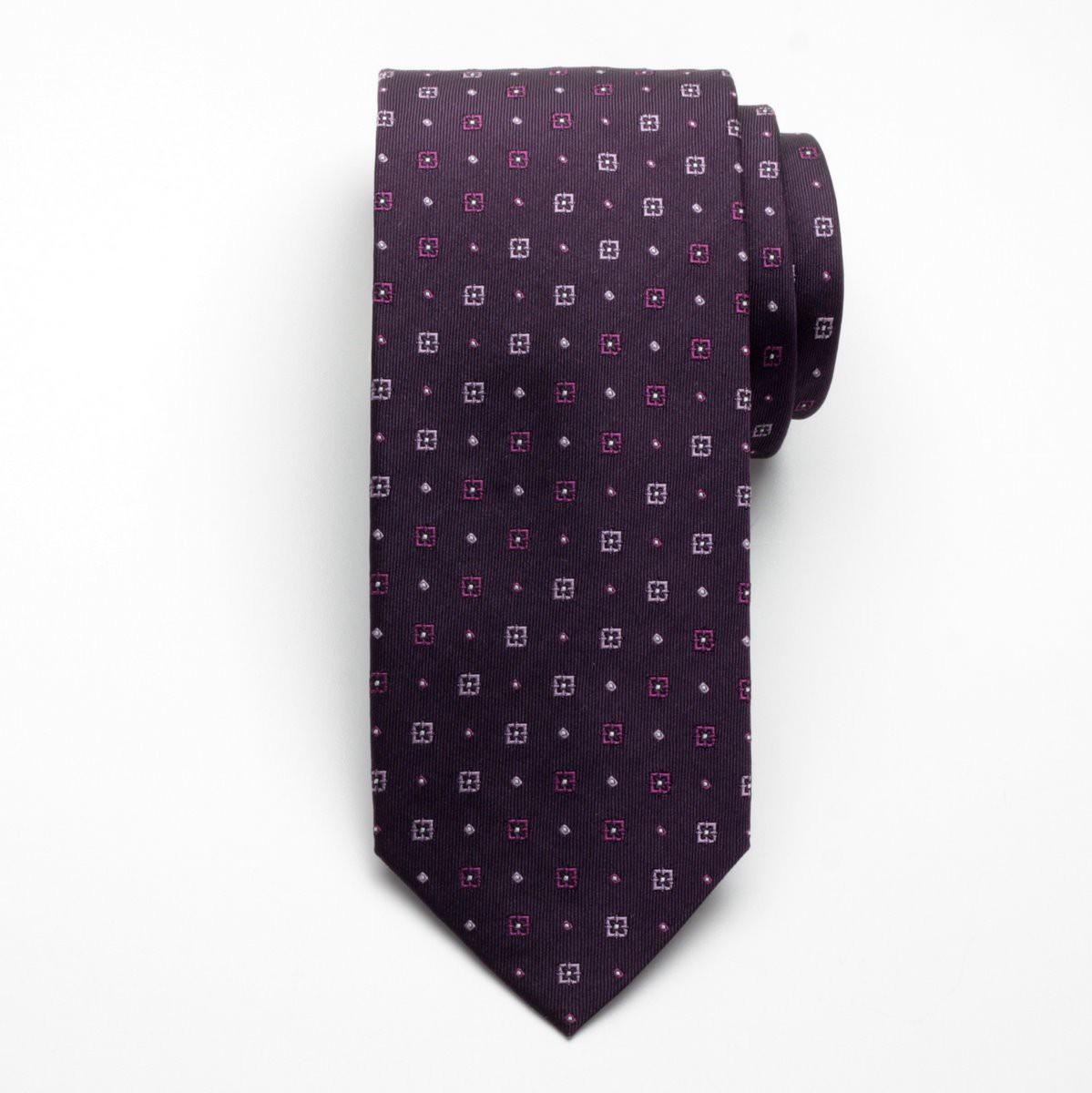 Krawat jedwabny Fine Selection (wzór 100)