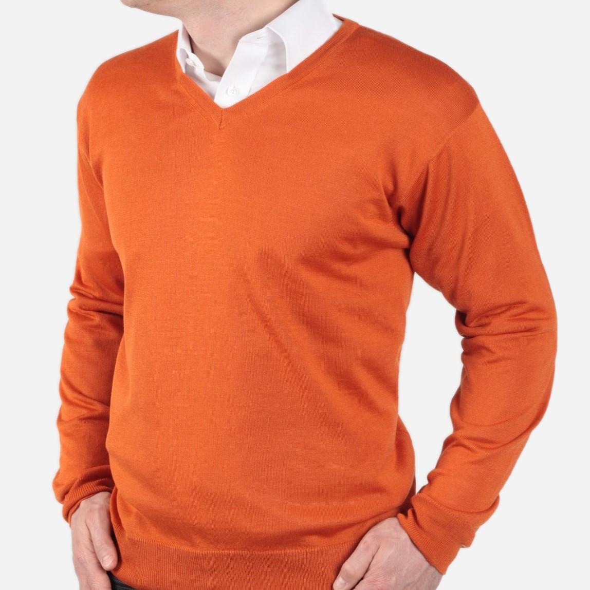 Pulower cienki Willsoor - pomarańczowy