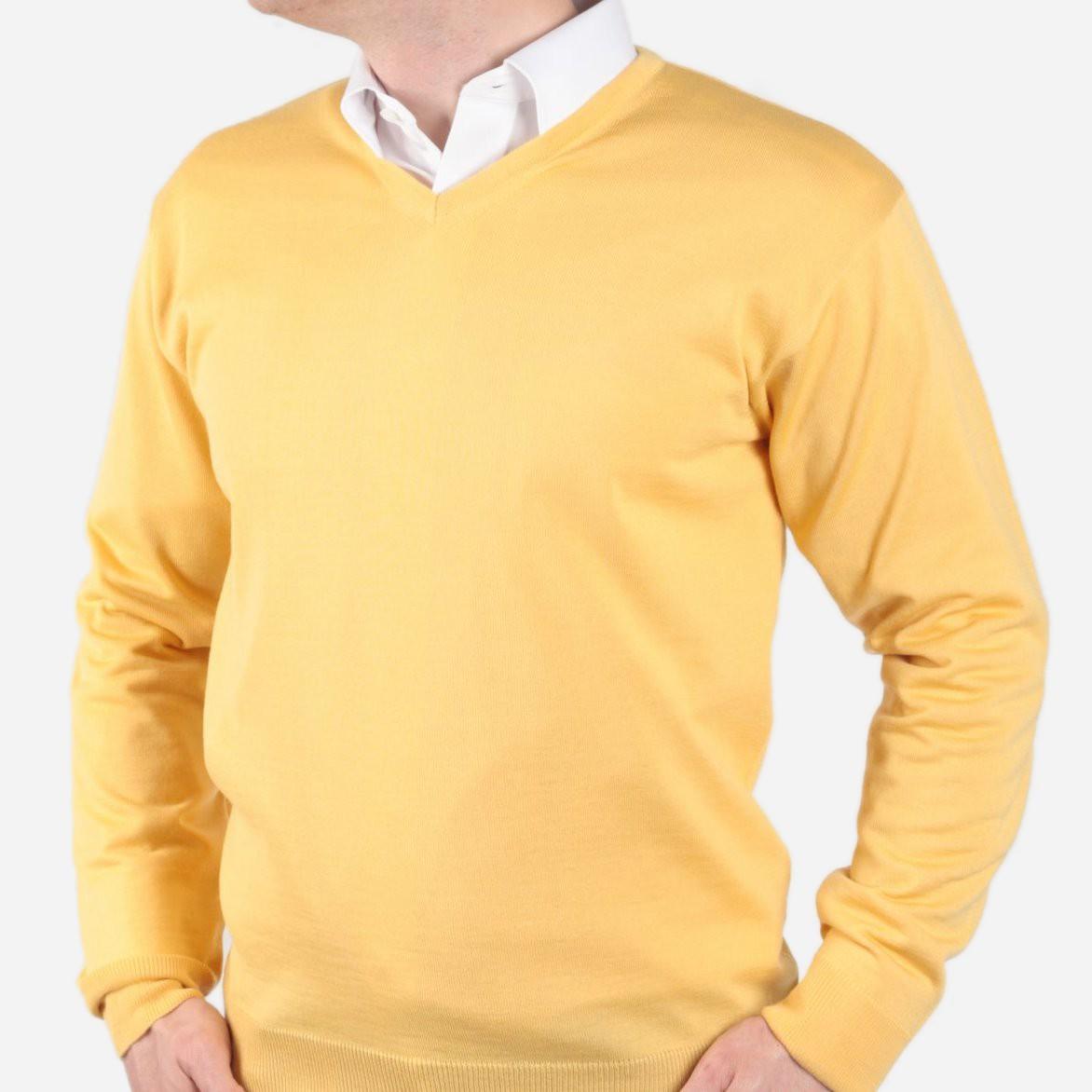Pulower cienki Willsoor - żółty