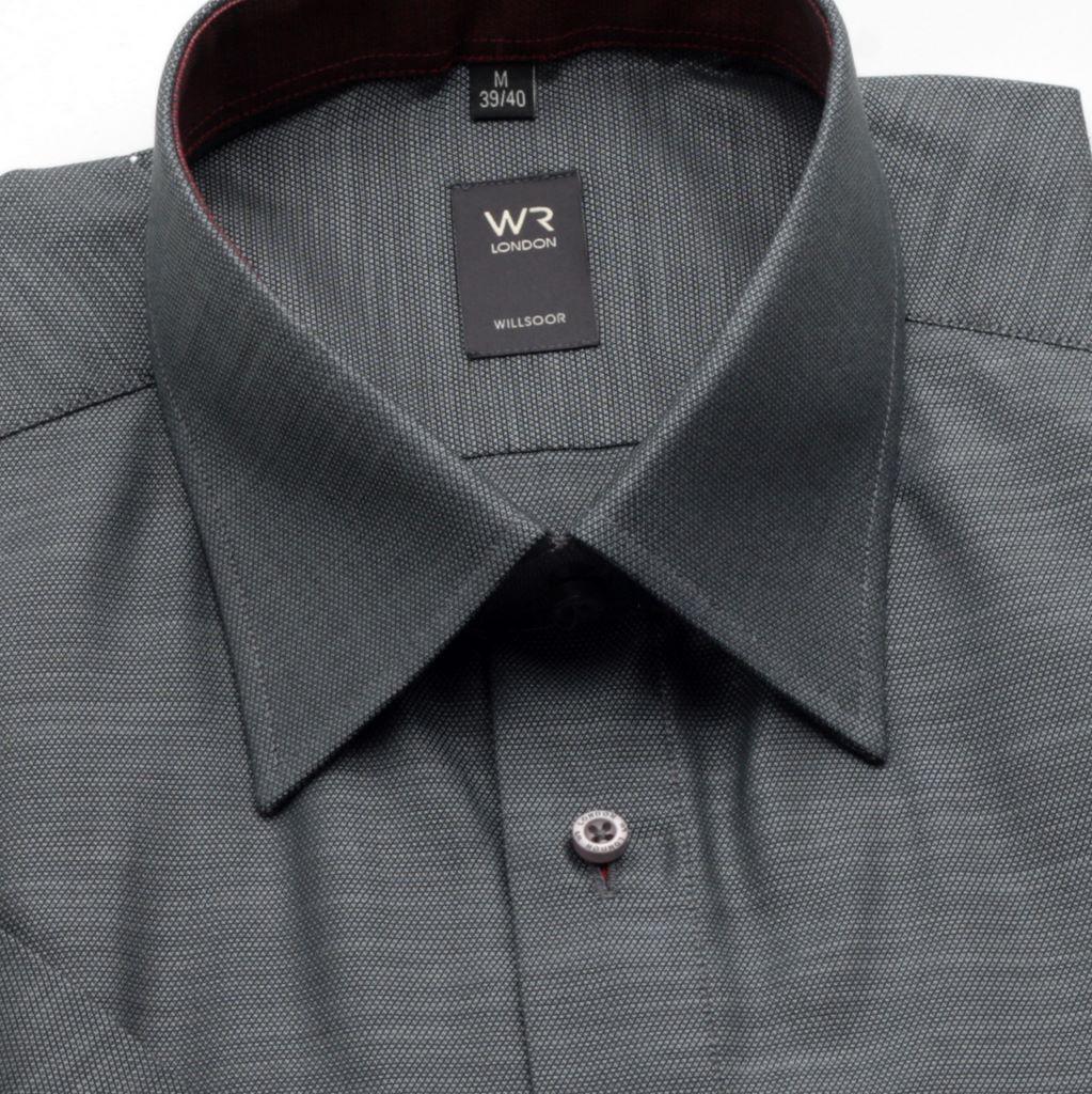 Koszula WR London (wzrost 176/182) z krótkim rękawem, taliowana