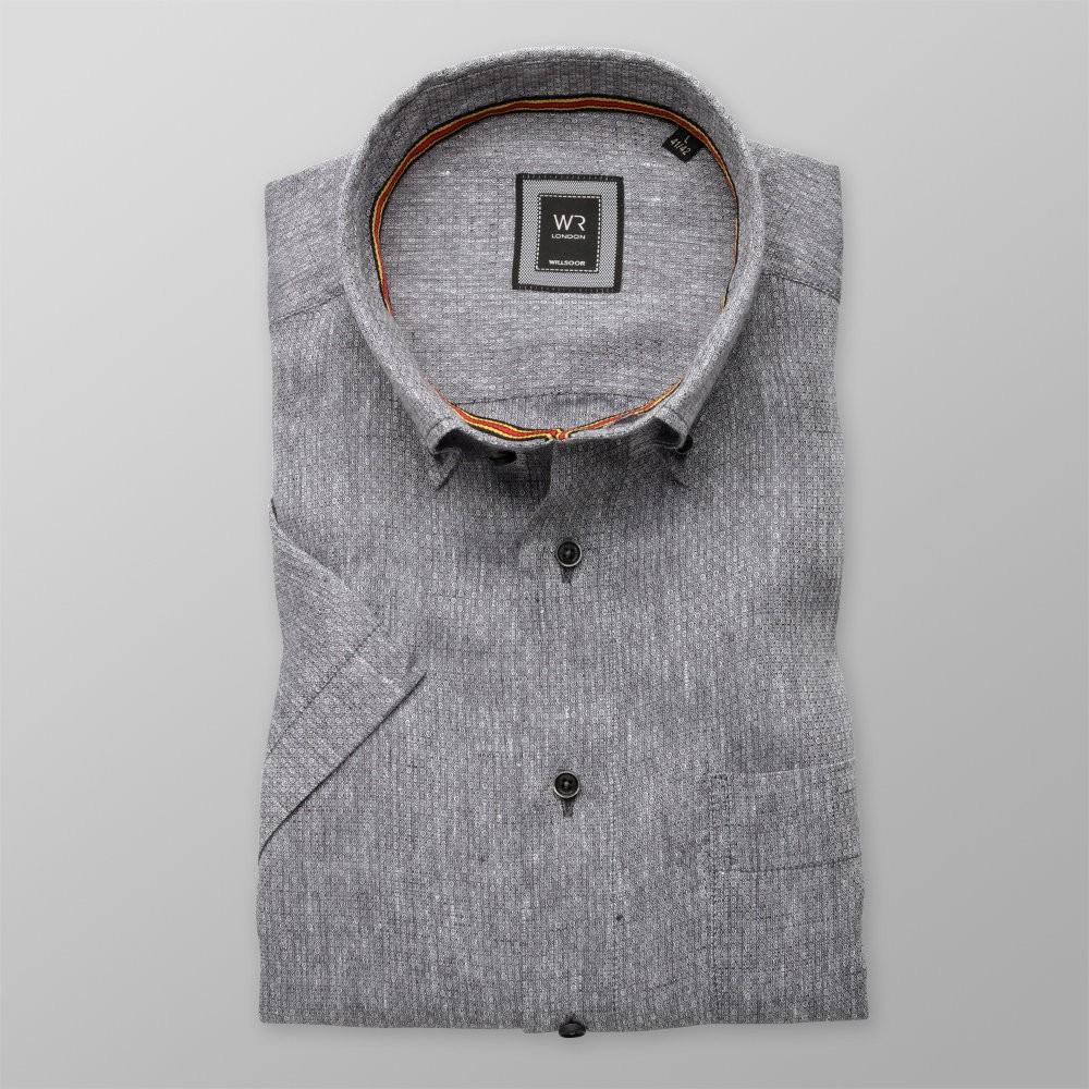 Klasyczna D 100% len | Lniane koszule dla mężczyzn