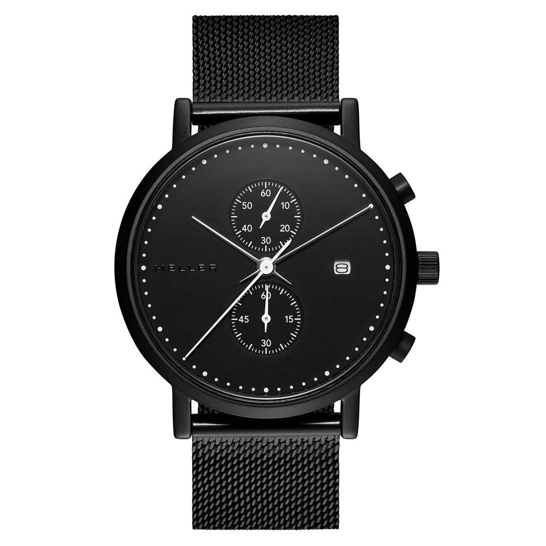 Zegarek męski Meller Makonnen All Black Chronograf