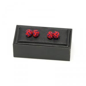 Spinki do mankietów - węzełki (wzór 7)