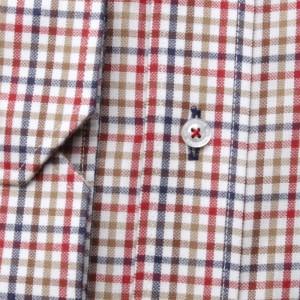 Klasyczna koszula w kolorową kratkę