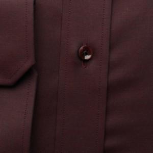 Taliowana koszula burgund