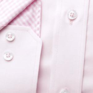Różowa klasyczna koszula