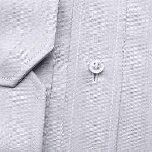 Klasyczna jasnopopielata koszula