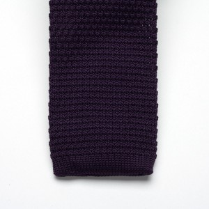 Krawat tkany Willsoor - fioletowy