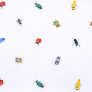 Biała chusta wielofunkcyjna w owady