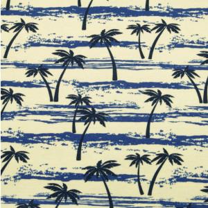 Żółta chusta wielofunkcyjna w palmy