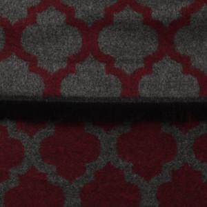 Szary szal w orientalne wzory