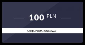 Karta podarunkowa: 100 PLN