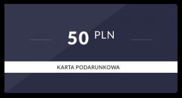 Karta podarunkowa: 50 PLN