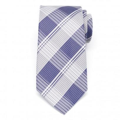 Klasyczny krawat w kratę