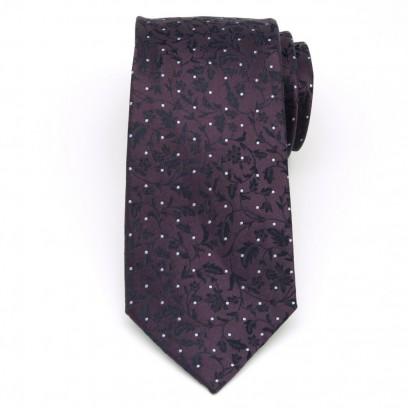 Krawat jedwabny (wzór 370)