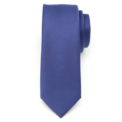 Krawat wąski (granatowy)