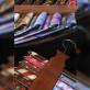 Drewniany wieszak na krawaty