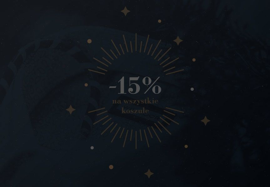 -15% na koszule